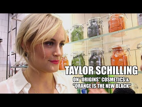 "Taylor Schilling on ""Origins"" Harvard Sq. & Orange is the New Black"