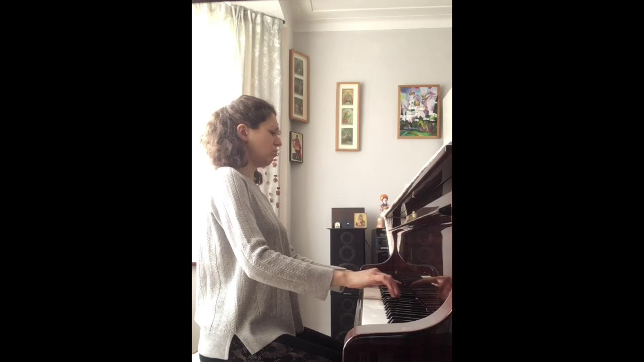 Lockdown Pianist Alphabet - H