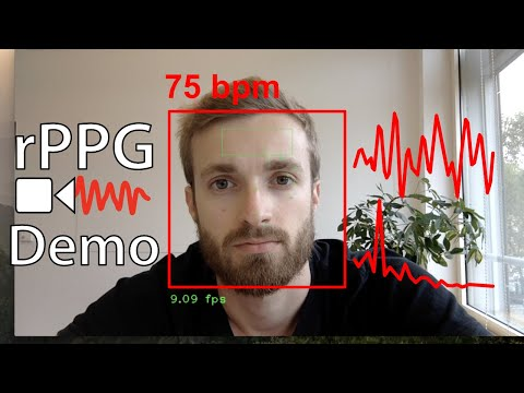 rPPG: Contactless heart rate measurement