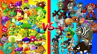 Compilation of Plants vs Zombies 2 OP Plants Power UP vs Hard Zombies - All Plant vs Zombi PVZ 2