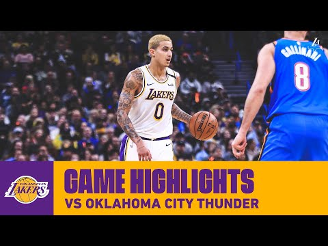 HIGHLIGHTS | Kyle Kuzma (36 pts, 7 reb) at Oklahoma City Thunder