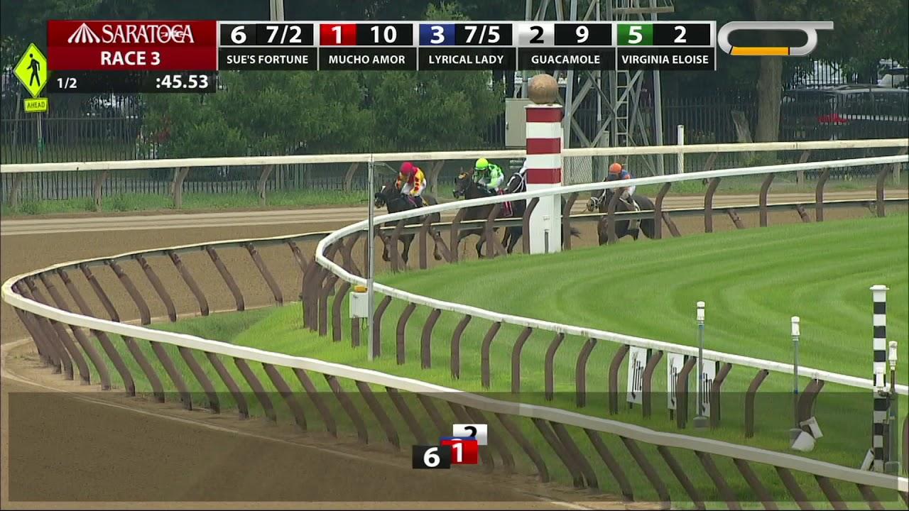 Sue's Fortune - 2018 - The Adirondack Stakes en Espanol