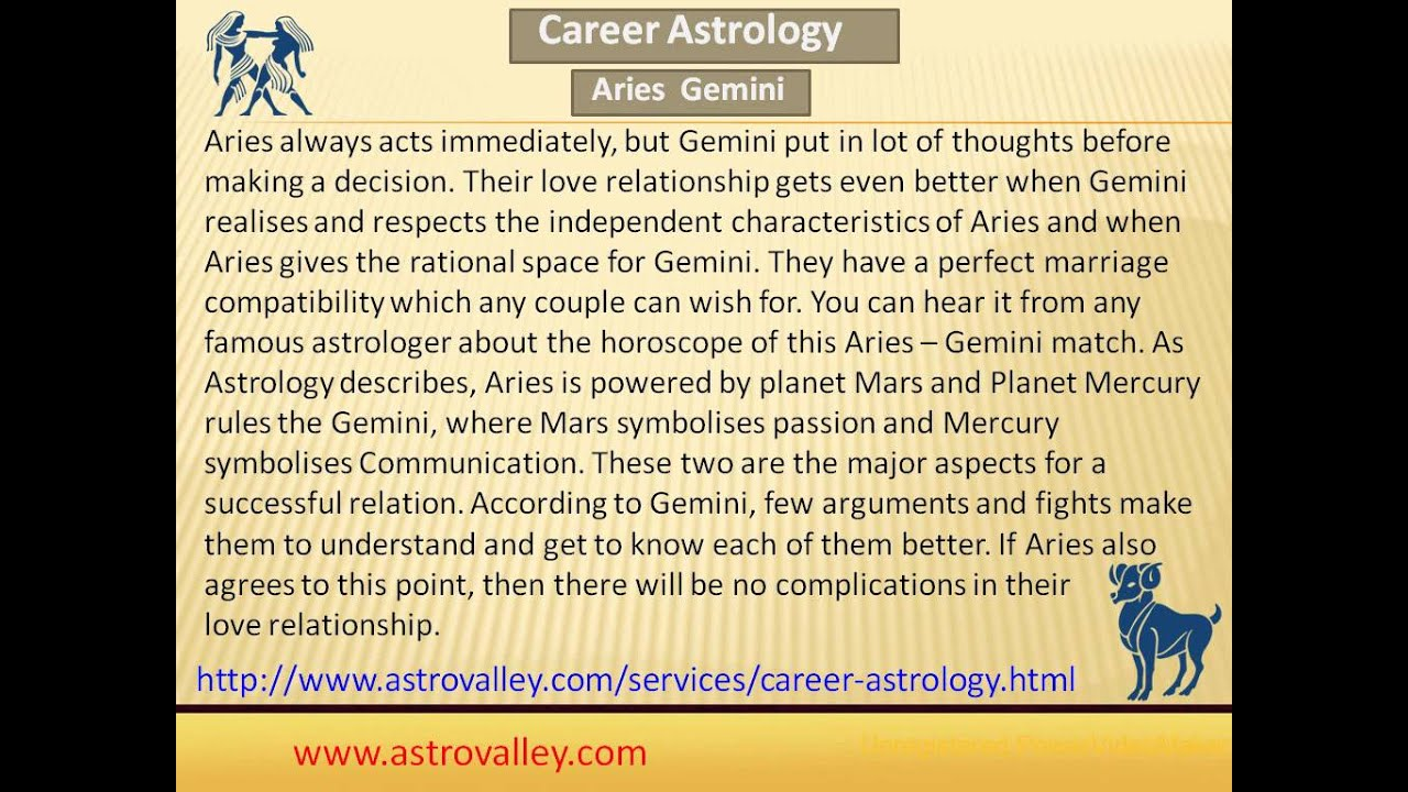 Aries and gemini compatibility in bed