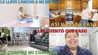 YA COMPRE MI COMEDOR + LE LLEVE LONCHE A MI ESPOSO