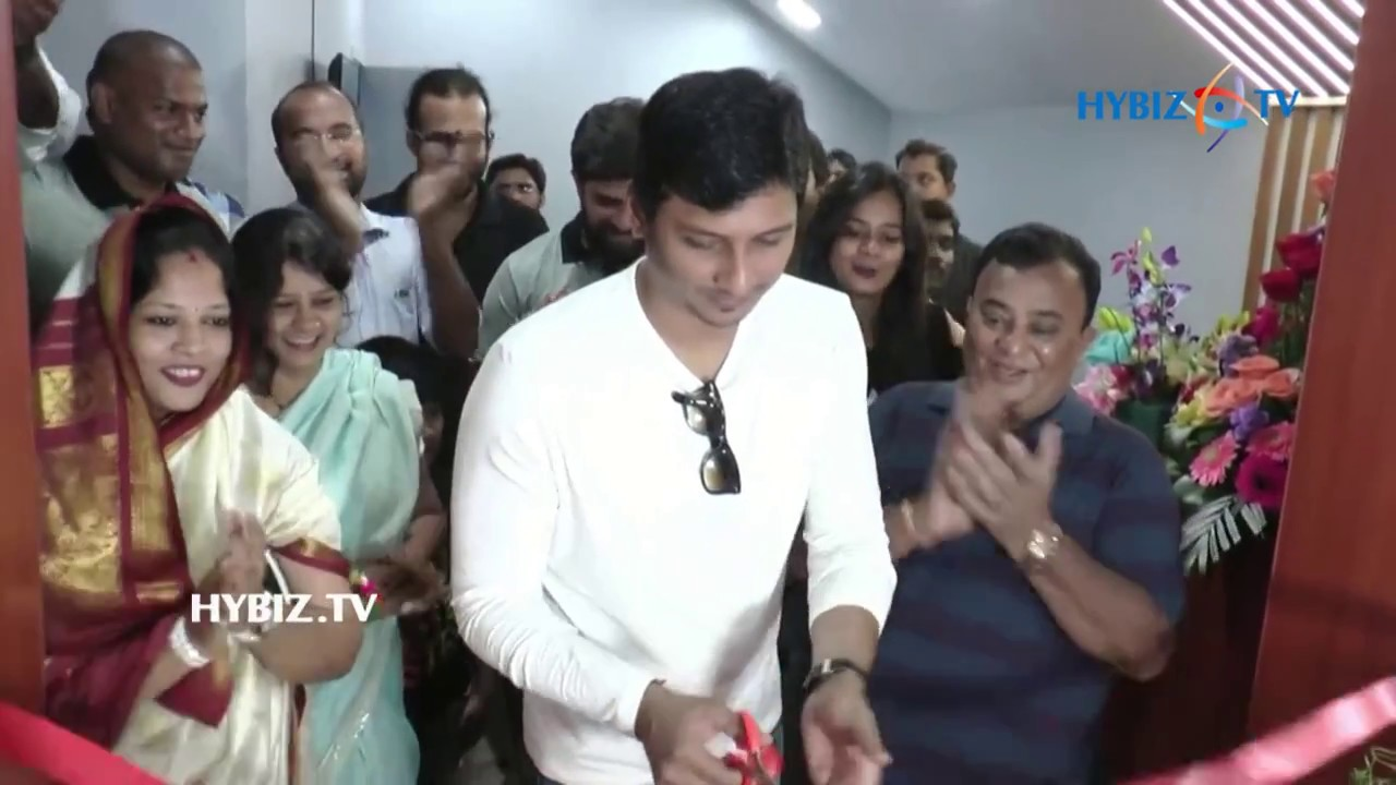 Jiiva actor inaugurated muscle garage gym at alwarpet youtube