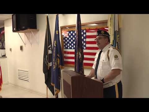 Legion Post 20 Veterans Day  11-11-18