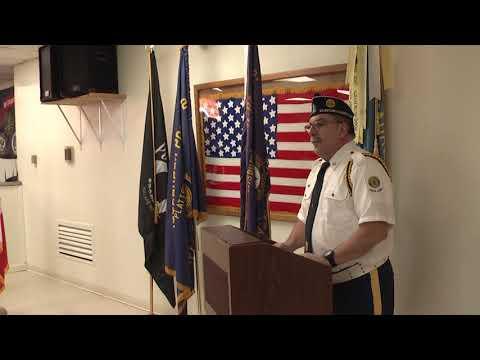 Legion Post 20 Veterans Day  11-11-18