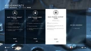 Battlefield V - Add New Assignments Before Multiplayer (Basic Training Assault, Medic) (2018)