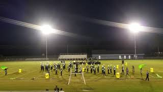 NNHS 2018 Greene Central Band Competition