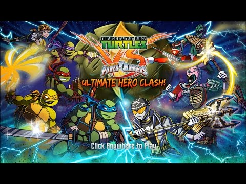 Teenage Mutant Ninja Turtles vs Power Rangers: Ultimate Hero Clash