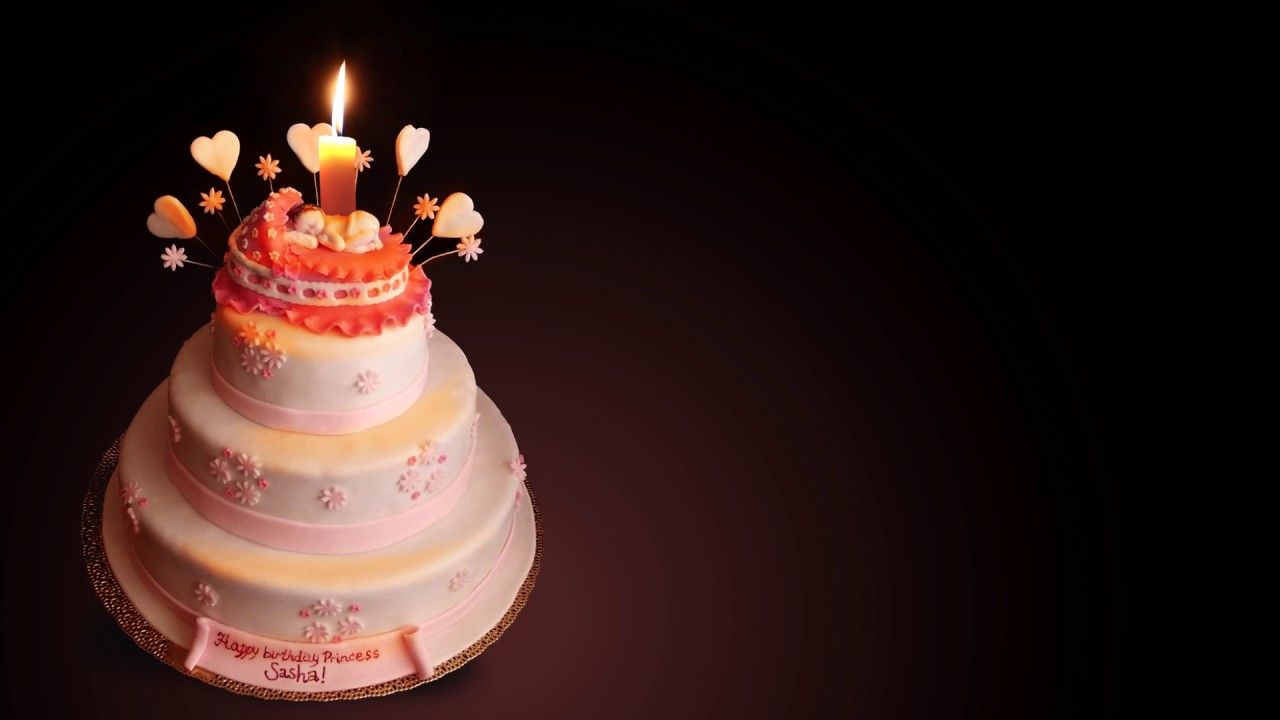 Открытка торт с одной свечкой, картинки фото природы