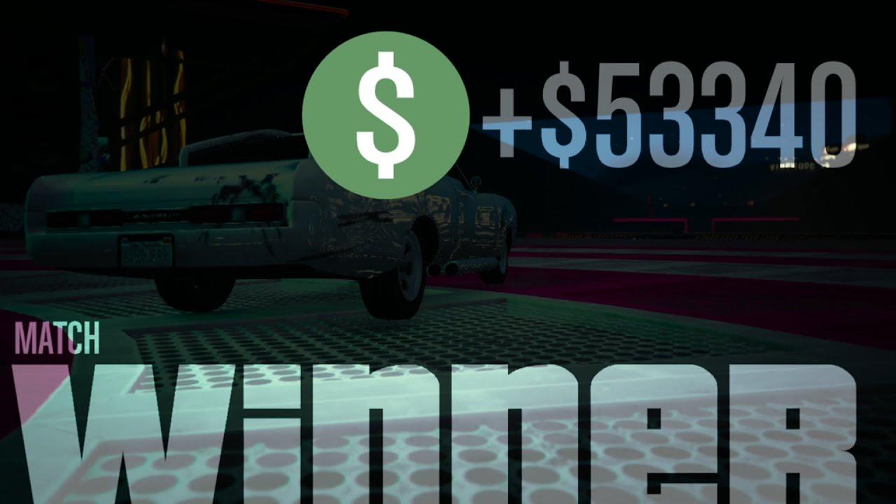 اقوى مهمه فى لعبة gta 5 online الفوز فى سباق الموت جاتا 5 الحياه الواقعيه وربح 50000$دولار