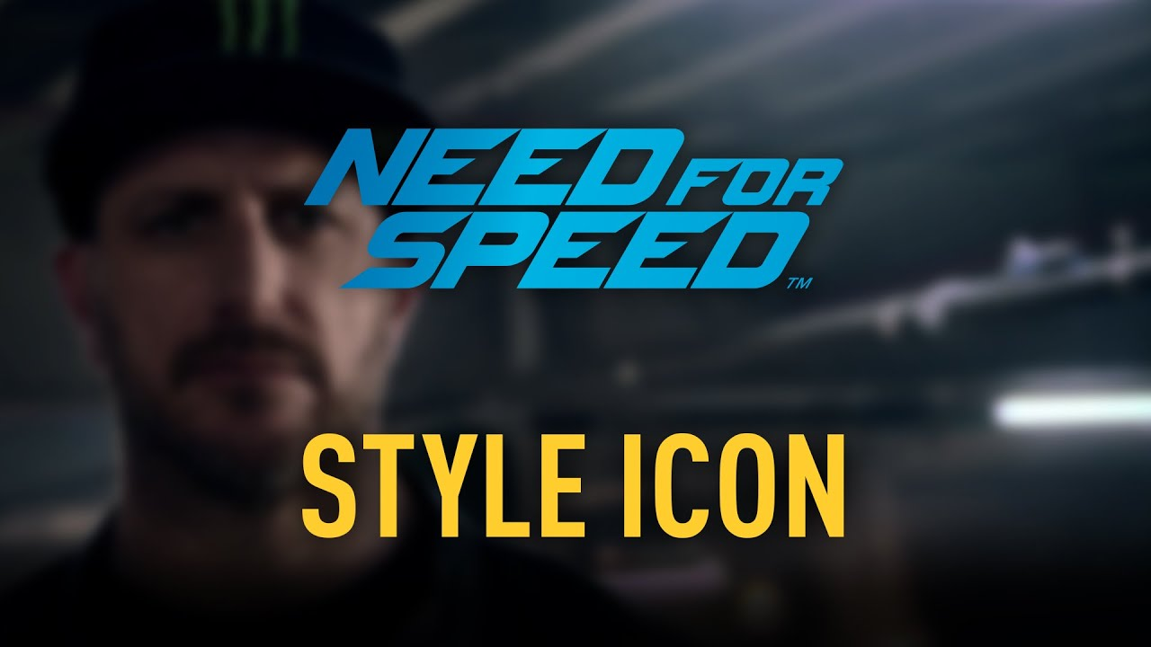 Need for Speed Icons - Ken Block - The style icon of the 2015 street racing game, Need for Speed.