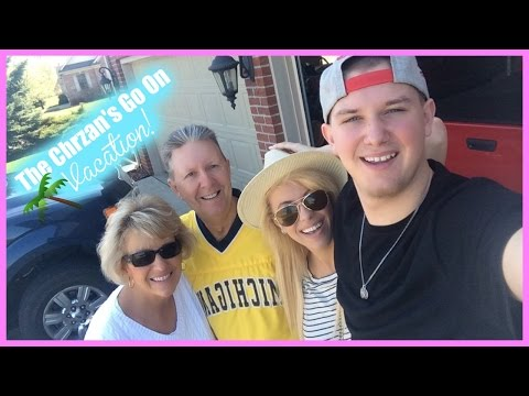 The Chrzan's Go On Vacation! | Vacation Vlog Day 1!