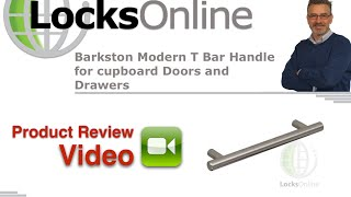 Barkston Modern T Bar Handle For Cupboard Doors And Drawers   Locksonline Product Reviews