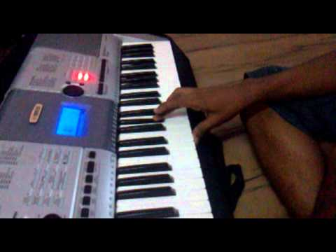 Basic lessons of Carnatic music played on Keyboard (not a Tutorial)