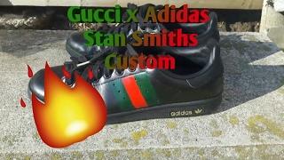 Gucci x Adidas Stan Smiths Custom