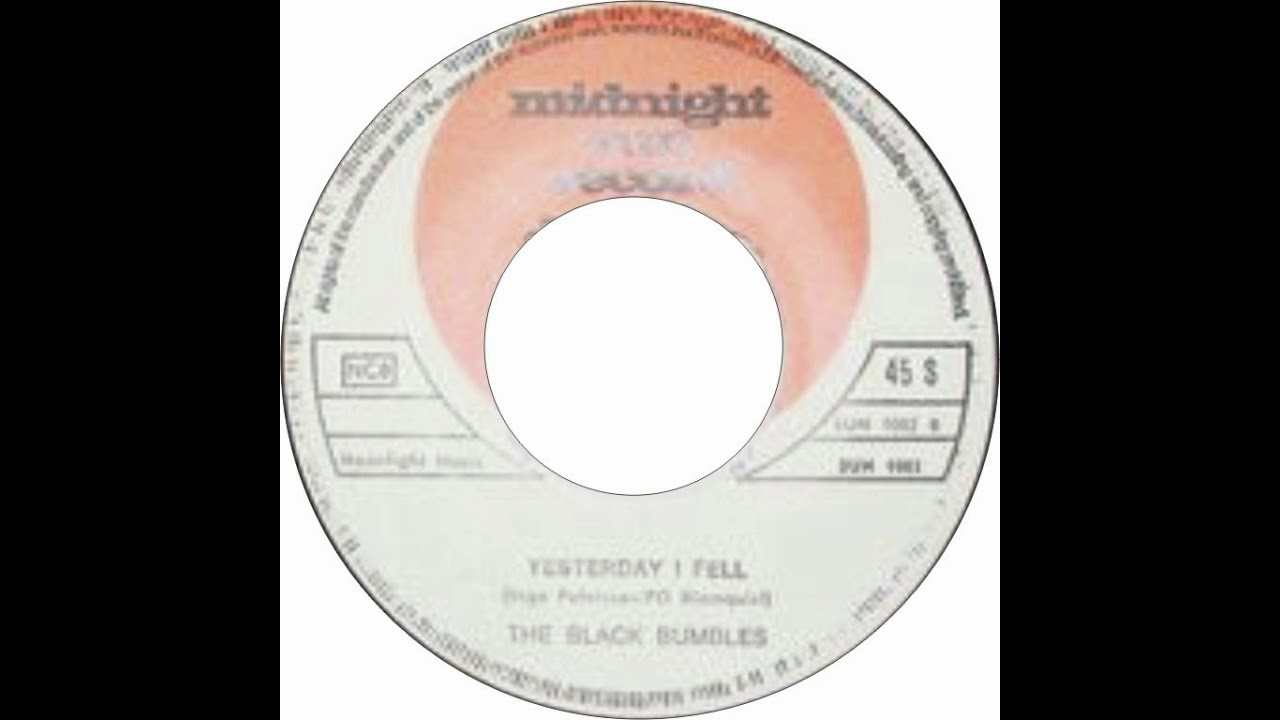 Download The Black Bumbles - Yesterday I Fell