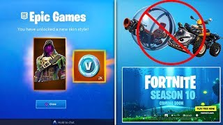 *NEW* SECRET BLACKHEART STYLE, FREE Season 10 Battle Pass & VBucks! (Fortnite Battle Royale 8.3)
