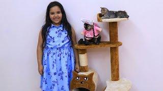 شفا اشترت العاب للقطط الصغيرة !!
