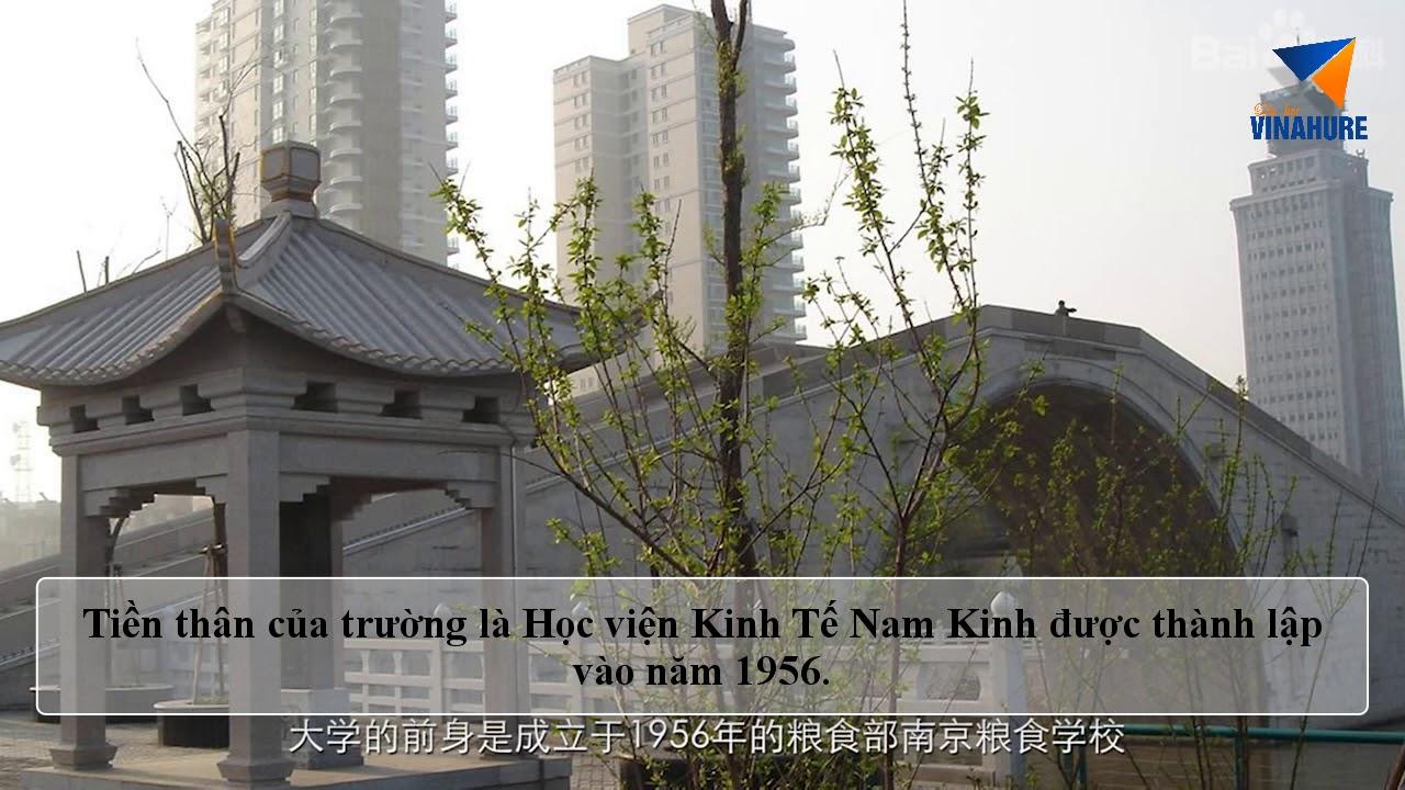 Đại học Tài chính Kinh tế Nam Kinh – Tư vấn du học Vinahure