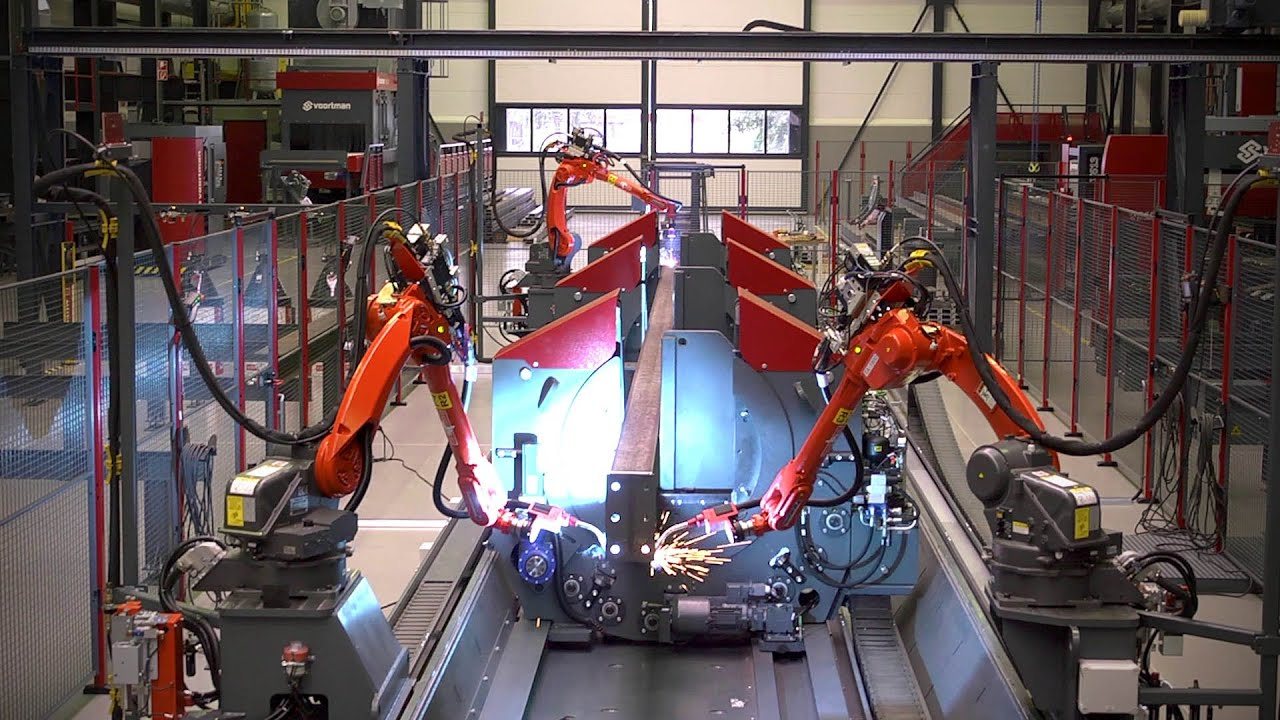 Voortman - The Fabricator | Fully automatic assembling and ...