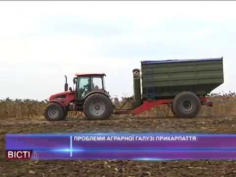 Проблеми аграрної  галузі Прикарпаття