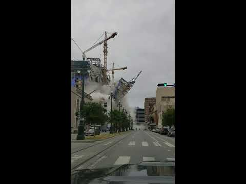 Bill Reed - Hard Rock hotel construction collapses in New Orleans