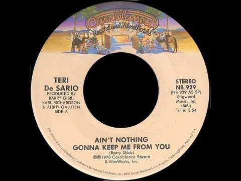 Teri DeSario ~ Ain't Nothing Gonna Keep Me From You 1978 Disco Purrfection Version