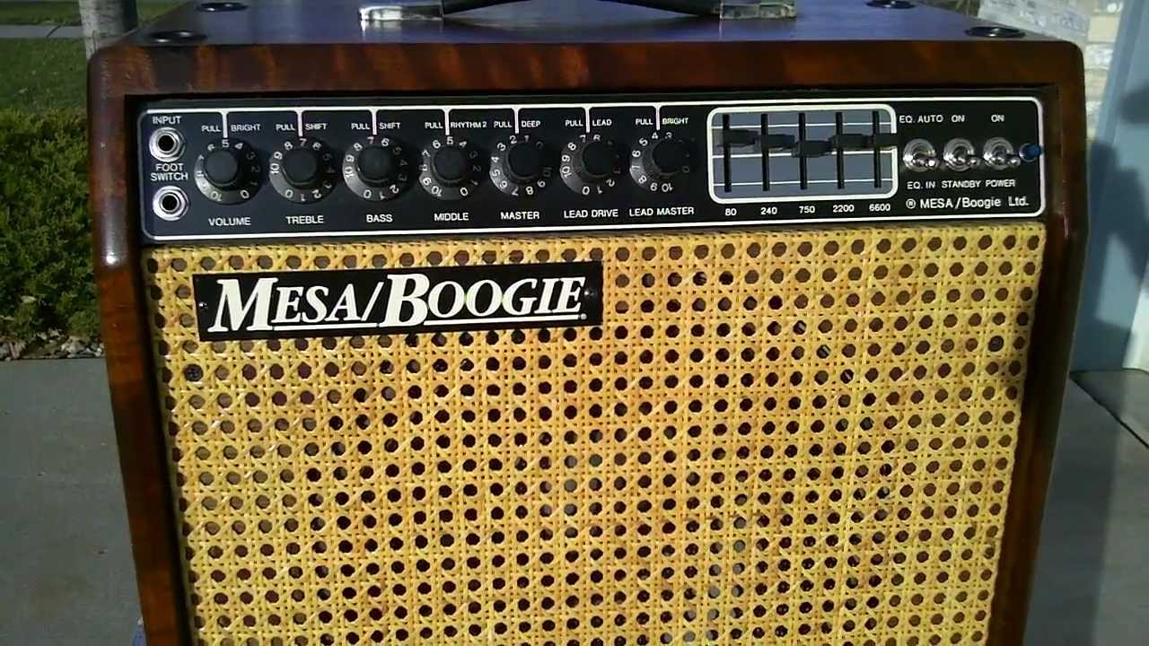 Mesa Boogie Mark Iii Simul Class Hardwood Youtube