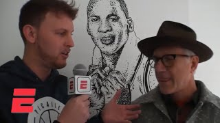 Legendary Jordan Brand designer Tinker Hatfield talks about working with Michael Jordan | ESPN