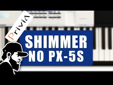 Baixe PAD Continuous E Suba No Seu PX-5S   Casio Privia PX-5S (PX5SEP037)