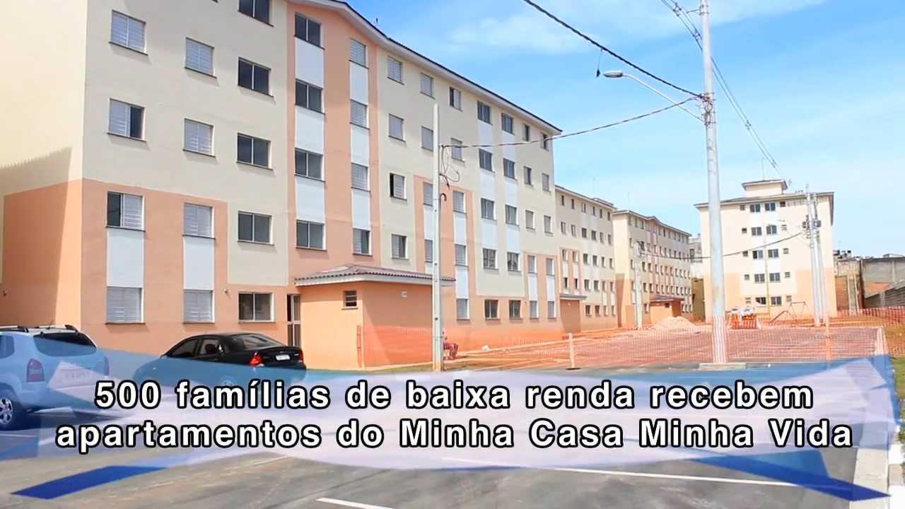 cb6148fbb745e Minha Casa Minha Vida beneficia 500 famílias de baixa renda - YouTube