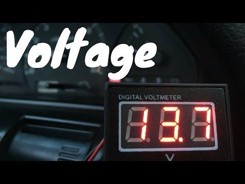 hook up autometer volt gauge