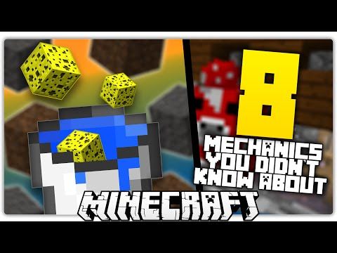 8 Minecraft Mechanics You Didn't Know Existed! [1]