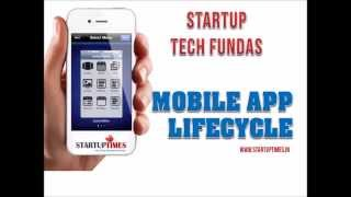 MOBILE APP  LIFECYCLE   6 PHASES - FOR STARTUPS