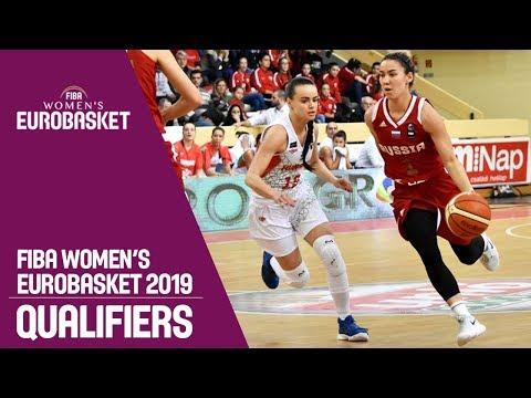 Hungary v Russia - FIBA Women's EuroBasket 2019 Qualifiers