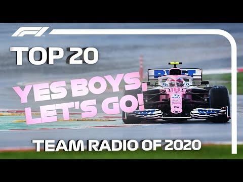 Top 20 F1 Team Radio Moments of 2020!