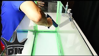 HOW TO: Reseal a leaking aquarium - TUTORIAL