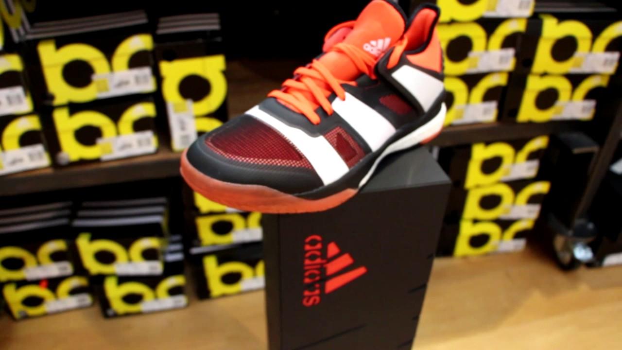 unboxing des neuen adidas stabil x handballschuhs saison. Black Bedroom Furniture Sets. Home Design Ideas