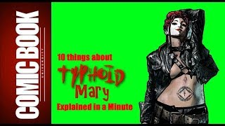 10 Things about Typhoid Mary (Explained in a Minute) | COMIC BOOK UNIVERSITY