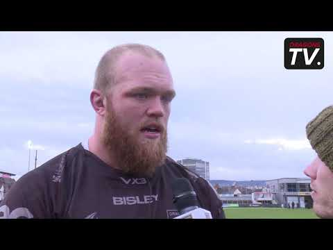 Joe Davies on Dragons Victory over Glasgow
