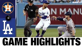 Astros vs. Dodgers Game Highlights (8/3/21)   MLB Highlights