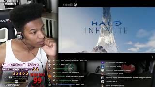 Etika Freaks Out To Halo Infinite E3 2018 Trailer Microsoft Xbox [Etika Stream Highlight]
