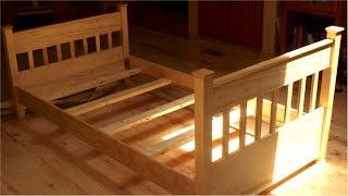 Как Сделать Детскую Кровать из 7 Досок