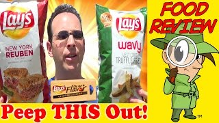 Lay's® Do Us A Flavor® 2015 | New York Reuben - Wavy West Coast Truffle Fries!
