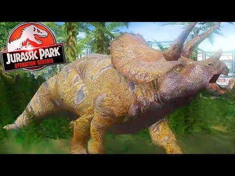 5 STAR PARK, 5 STAR DINOSAUR | Jurassic Park: Operation Genesis (Let's Play Part 8)