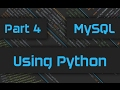 How to use Python for MySQL Operations