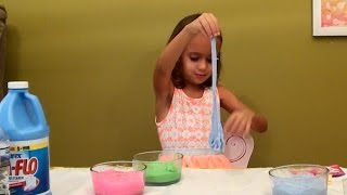 How to Make Slime Without Borax: No Borax Glitter Slime: My Little Pony Surprise Toys