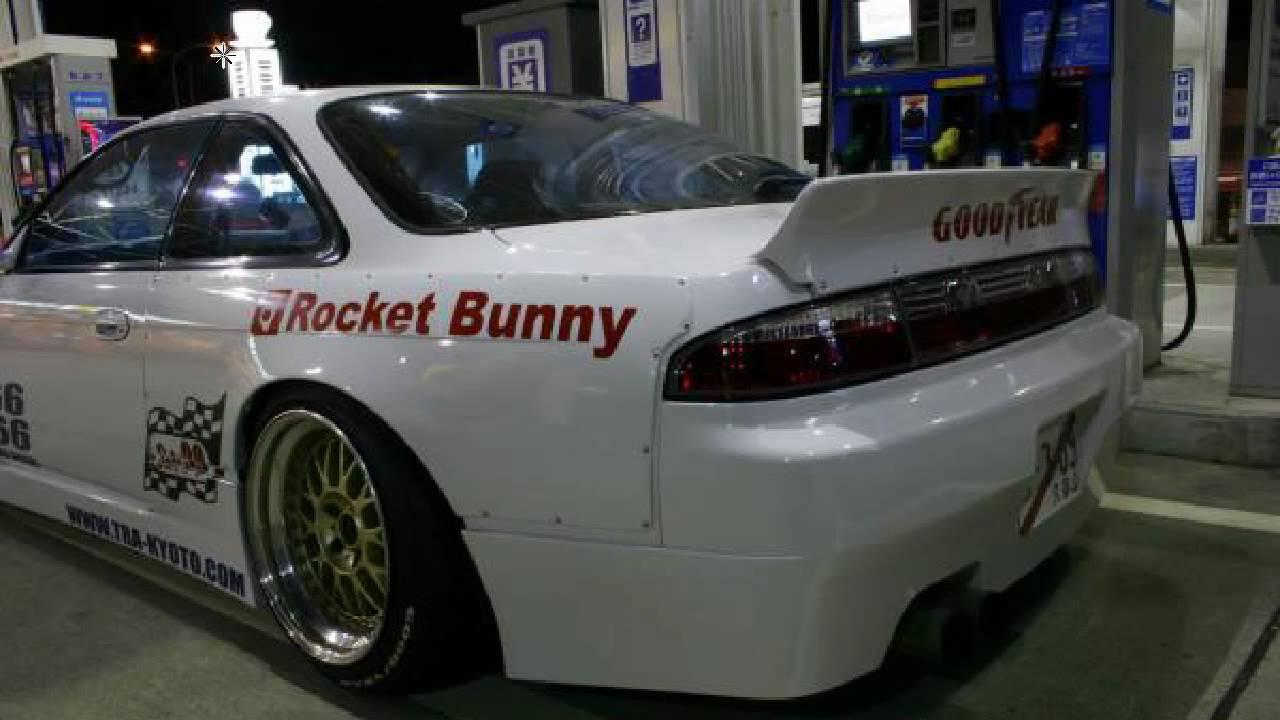 6666 Customs Ducktail Rear Wing Rocket Bunny Silvia S14